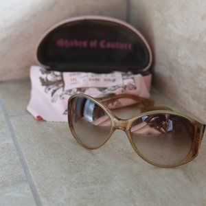 Juicy Couture LadyMichelle Sunglasses w/case&cloth